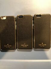 Lot Of 3pc Kate Spade  New York Cases For Apple iPhone 6s Black/gold