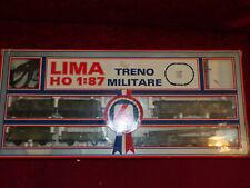 Lima set treno militare LEOPOLD in scatola ancora da aprire, scala H0