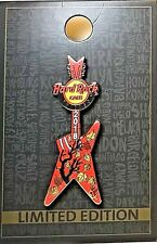 Hard Rock Cafe Chicago Fall Colors Guitar 2018 Pin Autumn Leaves LE NEW # 100722
