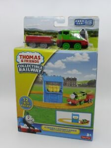 THOMAS COLLECTIBLE RAILWAY STARTER SET PERCY'S MAIL DELIVERY TRACK SET