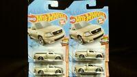 Hot Wheels '99 Ford F150 Svt Lightning Gold Lot Of 4 New