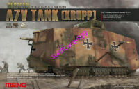 Meng Model 1/35 TS-017 German A7V Tank (Krupp) Rare