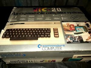 Vintage Commodore VIC-20 Personal Computer