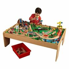 NEW Waterfall Mountain Toy Train Set and Table FREE SHIPPING