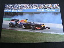 Photo Red Bull Racing RB7 2011 #1 David Coulthard (GBR) Gamma Racing Day Assen 2