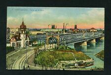 Strasbourg - Ponts sur le Rhin  1927      (JK-36)