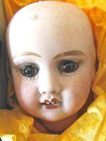 Tête de poupée ancienne porcelaine ,petite française, Jules VERLINGUE