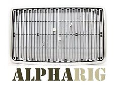 OE Replacement Grille for Volvo VN (1996-2003)-CHROME/BLACK (with Bug screen)