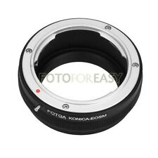 FOTGA Adapter Ring for Konica AR Mount lens to Canon EF-M EOS M M2 M3 M5 M6 M10