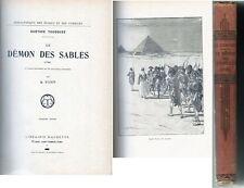 C1 NAPOLEON EGYPTE Toudouze LE DEMON DES SABLES Relie ILLUSTRE Auguste PARIS