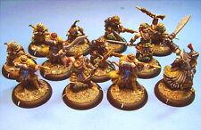 Warmachine painted miniature Idrian Skirmishers (12)
