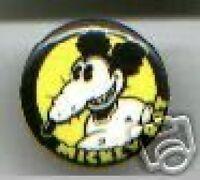 MICKEY RAT underground comic art pin pinback