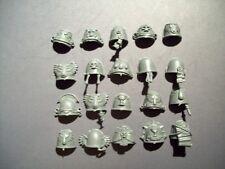 20 Space Marine Blood Angel Death Company Shoulder Pads bits, 40K Games Workshop