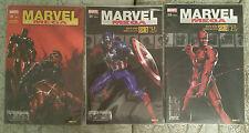 """Panini comics lot """" Marvel MEGA """" (Secret WAR) 19/21/25 édition collector"""