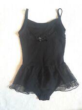 Freestyle Girls ruffle black swimsuit size: 6/6X
