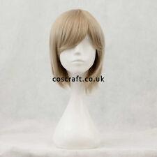 Corto a Strati Cosplay Parrucca Con Frange in Ash Biondo, Regno Unito Venditore, il Principe Stile