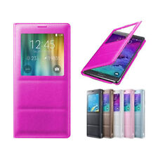 Glossy Mobile Phone Flip Cases for Samsung Galaxy Note