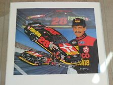 "Nascar Vintage 1992 Davey Allison ""The Energy to go further"" picture Signed by S"