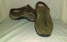 Ryka Nitracel Womans Brown Suede Leather Slip On Size 7 K28121WEJF