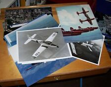EMBRAER EMB312 TUCANO TURBOPROP AIRCRAFT OFFICIAL PRESS PHOTOGRAPHS DISPLAY TEAM