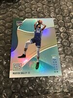 2018-19 Panini Status Marvin Bagley III Rookie RC Aqua Parallel SP No. 112 KINGS