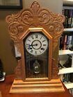 Antique New Haven Kitchen Clock