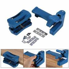Drillpro Manual Edge Trimmer Double Edge Trimming Tool Woodworking Edge Cutter ^