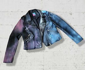 Custom Punk Goth Alt Leather Jacket Pastel Alternative Killstar Dollskill Style