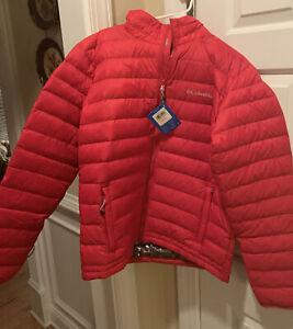 NWT- Columbia Men's Sister Brook Omni Heat 700-Fill Down Jacket