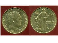 MONACO  10 centimes 1975   ( bis )