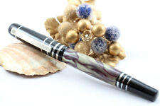 PIACENZA OLIVE GREEN MARBLE FINE QUALITY FOUNTAIN PEN