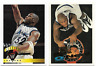 1995-96 Topps Shaquille O'Neal Card #279 W/Scoring Leaders Card #6 Orlando Magic