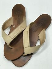 2fd8ede73 CHANEL Leather Sandals   Flip Flops for Women US Size 7.5 for sale ...