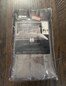 1 Macy's Hotel Collection Frame Modern Standard Pillowsham
