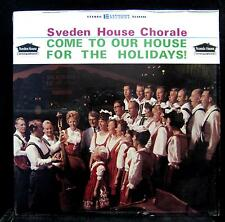 Ray Johnson Sveden Chorale - Come To Our House For The Holidays LP VG+ MN Vinyl