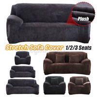 1 2 3 Seats Elastic Stretch Sofa Armchair Cover Couch Lounge Slipcover Protecto