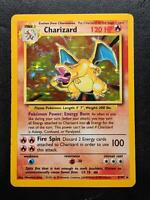 4/102 | Charizard HOLO | WOTC Base Set | Pokemon Card | Excellent