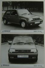 Renault 5 GT Turbo Two Press Photographs from 1986