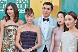 Crazy Rich Asians Film Script / Screenplay. Constance Wu, Henry Golding.