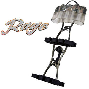 Rage Broadheads - Rage Cage Quiver Realtree AP Camo