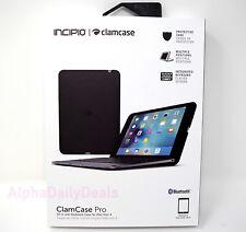 Incipio ClamCase Pro All-in-One Bluetooth Keyboard Folio Case iPad Mini 4 Black