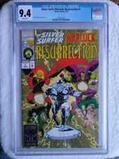 Silver Surfer/Warlock:  Resurrection #1, CGC 9.4, 1993, Marvel Comics, White Pag