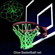 Glow in The Dark Basketball Hoop Net Luminous Basketball Net Outdoor Sports.
