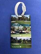Golf Bag Tag Luggage THE WIGWAM RESORT Arizona