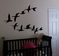 Vinyl Wall Art Decal Sticker Flying Geese Ducks Birds