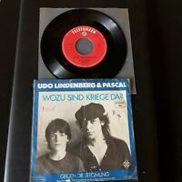 "Udo Lindenberg & Pascal- Wozu Sind Kriege Da?-Vinyl,7"",45 RPM,Single-D-1983-Rock"