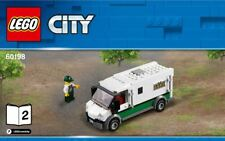 LEGO City Cargo Train 60198 BANK VAN TRUCK ONLY BRAND NEW - SEALED BAG!