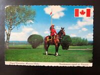Royal Canadian Mounted Police - RCMP Vintage Postcard, Canada