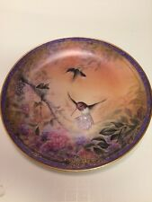 Bradford Exchange Wings Of Grace Larry K Martin #17810 A Ceramic Collector Plate