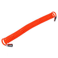 6M 19.7Ft 8mm x 5mm Flexible PU Recoil Hose Tube for Compressor Air Tool J2U7 R2